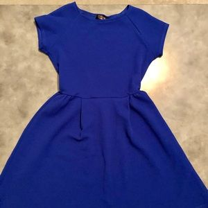 Renee C Blue Dress